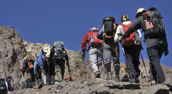 Trekking to Bonete
