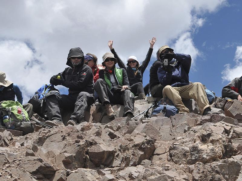Summit / Cumbre Mt Bonete