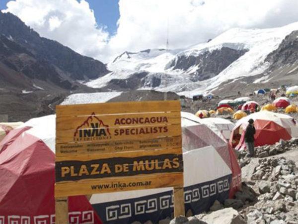 El clima en Aconcagua
