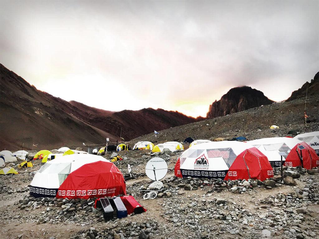 Plaza argentina camp
