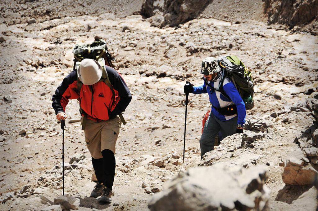 Trekking plaza de mulas