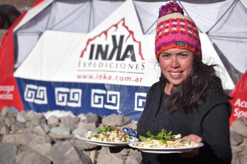 inka expediciones meals