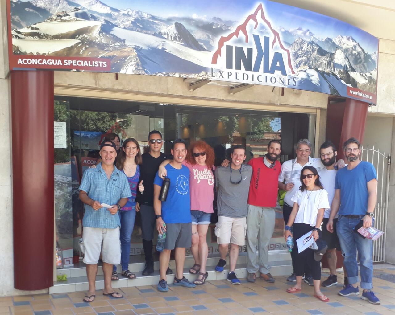 inka expediciones staff