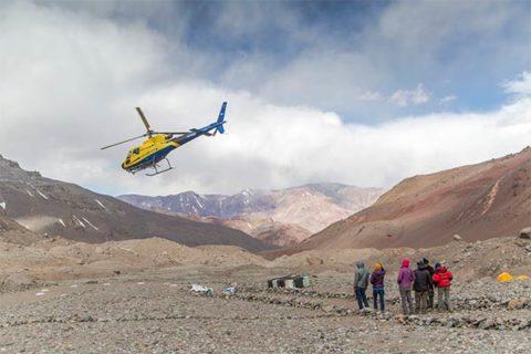 Traslado en Helicóptero