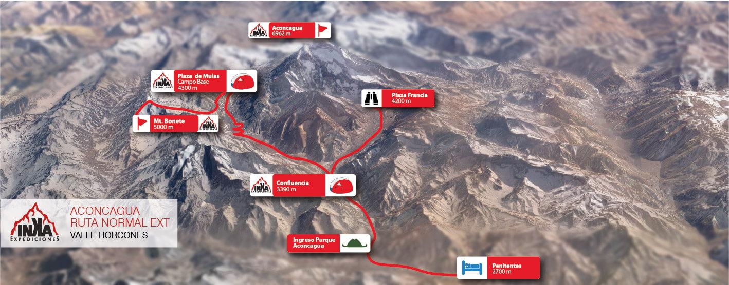 Aconcagua Map