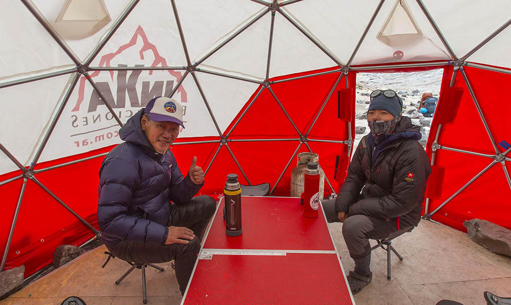 Aconcagua High Camps