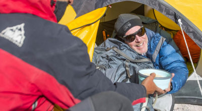 Aconcagua Meals at High Camps