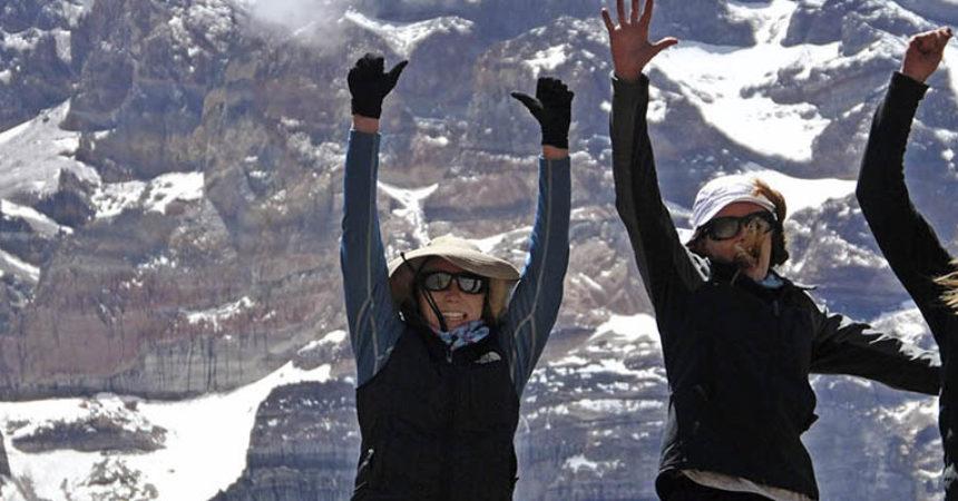 Expedición al Aconcagua exclusiva para mujeres
