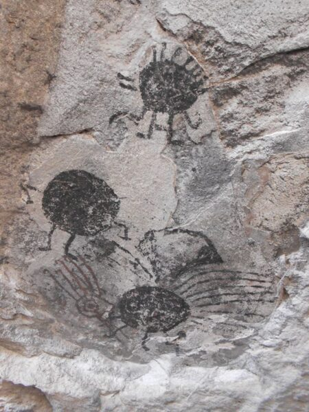 pinturas rupestres Morrilos