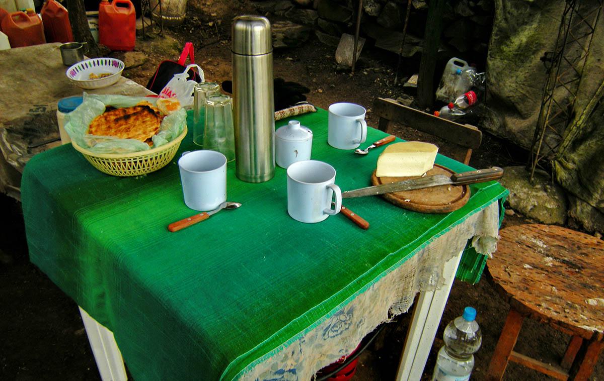 Trekking Salta - Desayuno